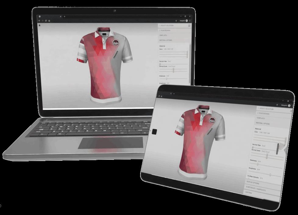 3D-Visualisierung von Produkten